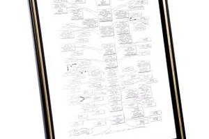 A family tree chart is a visual way to organize genealogical data.
