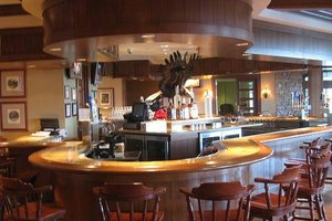 Bar inside Golf Clubhouse