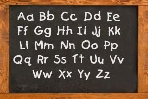 How to Write Alphabet Letters