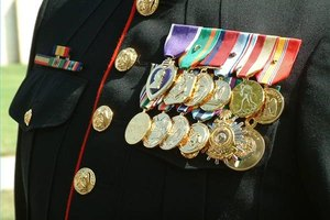 How to Build a Rack for Military Medals