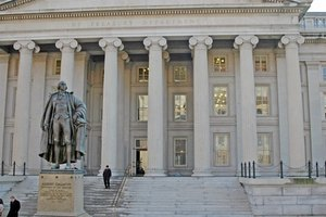 The U.S. Treasury issues government bonds.