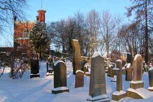 Cemetery records are a free source for locating deceased relatives.