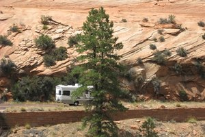 RVing gives you the option to enjoy meals in remote, beautiful places.