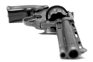 You can tell whether a firearm is plated with nickel or chrome by a visual inspection.