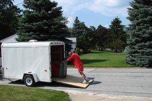 A cargo trailer is the first step to stealth living.
