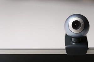 USB webcams may use a base stand or clip onto your monitor.