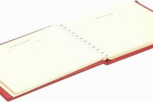 DIY Funeral Guest Books