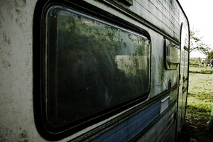 Travel trailer window