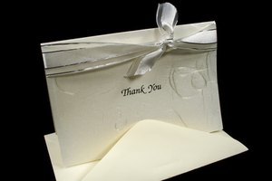 Proper Salutations for a Thank You Note