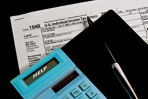 Individuals file taxes using IRS Form 1040.