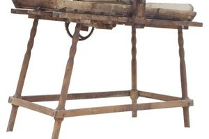 Homemade Printing Press as a Kid's Craft