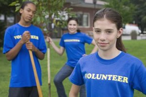 Volunteer opportunities for a 12-year-old are numerous.
