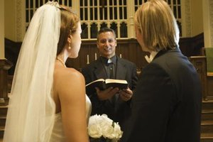 You can register online to be a wedding officiant.