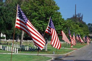 Families can sometimes save money by burying veterans in military cemeteries.
