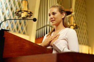 How to Do a Welcome Speech for the Church | Our Everyday Life