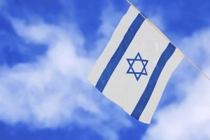 The Star of David appears on the Israeli flag.