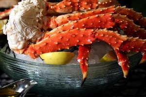 King crab season opens in October.