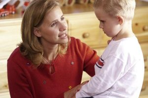 A negative parent can damage a child's self-esteem.