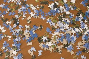 Donating them to charity gives new life to used jigsaw puzzles.