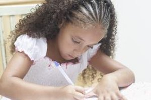 Guidelines for Writing an Autobiography for Elementary Students