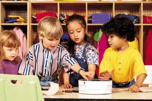 The Advantages & Disadvantages of Learning Centers in Preschool Classrooms