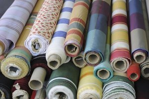 Donate your extra fabric to organizations that need it in your community.