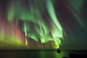 How Do I Create an Aurora Borealis School Project?