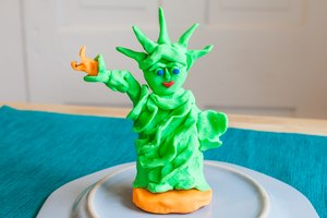 How to Build the Statue of Liberty for a School Project