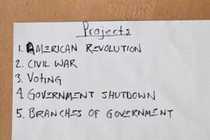 Social Studies Project Ideas for Kids