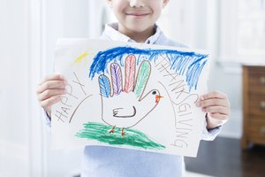 Help preschoolers identify what they're thankful for.