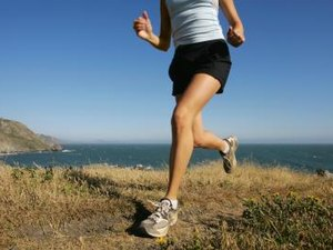 What Muscles Are Used and Firmed While Jogging?
