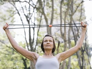Breast-Lifting Exercises With a Resistance Band
