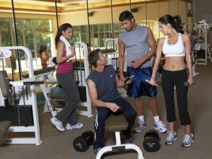 Circuit Training With Weight Machines