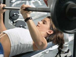 Good Barbell Press Weights for Female Athletes