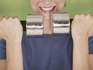 Lying Tricep Extension vs. Standing Dumbbell - Woman  Tricep Pulldown Vs Pushdown