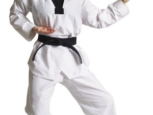 How to Develop Muscle Strength and Endurance With Karate
