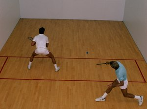Workout for Racquetball Players