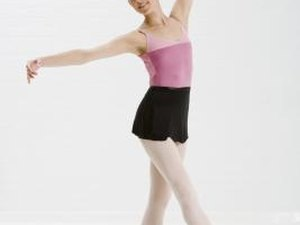 Slow Leg Lifts in Ballet