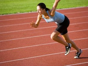 Do Sprinters Run on Their Toes?