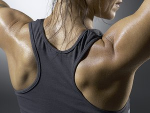 Home Shoulder Exercises Using a Pulley With Weights