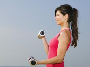 Exercises for Toning Muscles With Weight Training