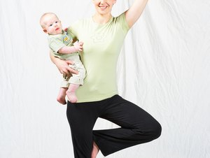 Yoga for Post Pregnancy Weight Loss