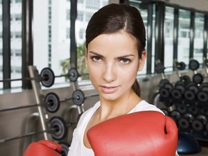 Workout With Dumbbells for Boxing