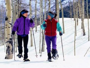 Calories Burned Cross-Country Skiing vs. Snowshoeing