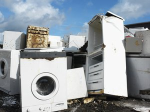 How to Recycle a Washer & Dryer