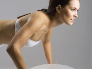 What Part of the Body Does the Stability Ball Roll Out Work?