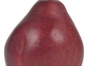 The Nutrients in Red Pears