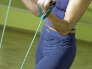 Resistance Cord Stomach Workouts