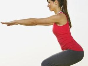 How to Do Squats With Alternating Kicks