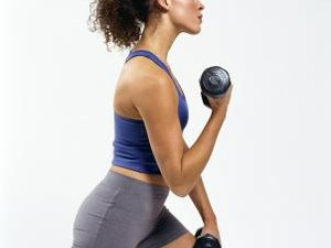 Dumbbell Lunges for Boxing